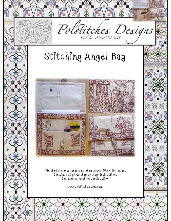 Stitching Angel Project Bag